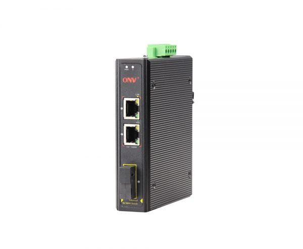 ONV-IPS31032PF Switch công nghiệp PoE 2 Port 100M