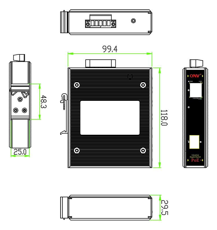 switch công nghiệp, switch poe công nghiệp, Switch mạng công nghiệp, Switch quang công nghiệp