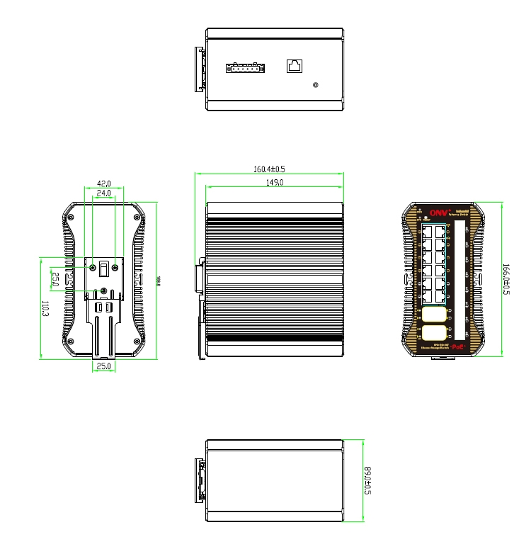 industrial PoE switch , industrial fiber switch, 24-port industrial Fiber switch