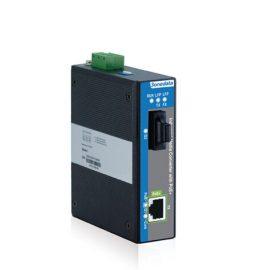 IPMC100-1GF-1GPOE   Bộ chuyển đổi Quang điện hỗ trợ 1 cổng Gigabit PoE công nghiệp và 1 cổng Gigabit