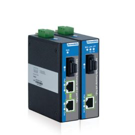 IPMC100-1GS-1GPOE   Bộ chuyển đổi Quang điện hỗ trợ 1 cổng Gigabit PoE công nghiệp và 1 cổng Gigabit SFP