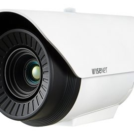 Camera Radiometric Thermal 0.3 Megapixel Hanwha Techwin WISENET TNO-4041TR