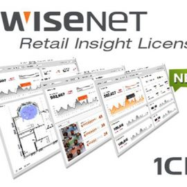 Client Register 1 kênh Hanwha Techwin WISENET SSI-CR01L