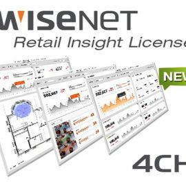 Client Register 4 kênh Hanwha Techwin WISENET SSI-CR04L