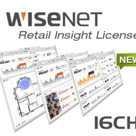 Client Register 16 kênh Hanwha Techwin WISENET SSI-CR16L