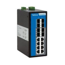 IES7116G-8GS   Switch công nghiệp quản lý 16 Cổng Full Gigabit (8 Cổng Gigabit Ethernet + 8 Cổng Gigabit SFP)
