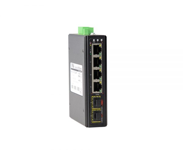 Switch công nghiệp PoE 4 cổng + 2 cổng quang